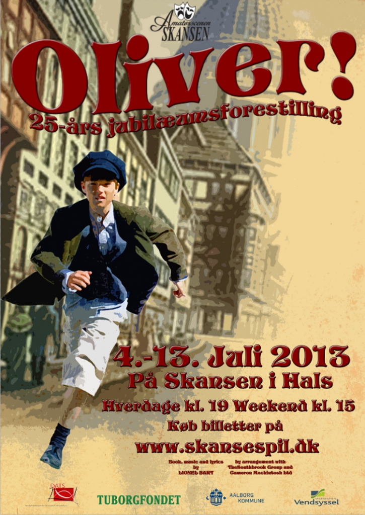 2013 Oliver, The Musical!