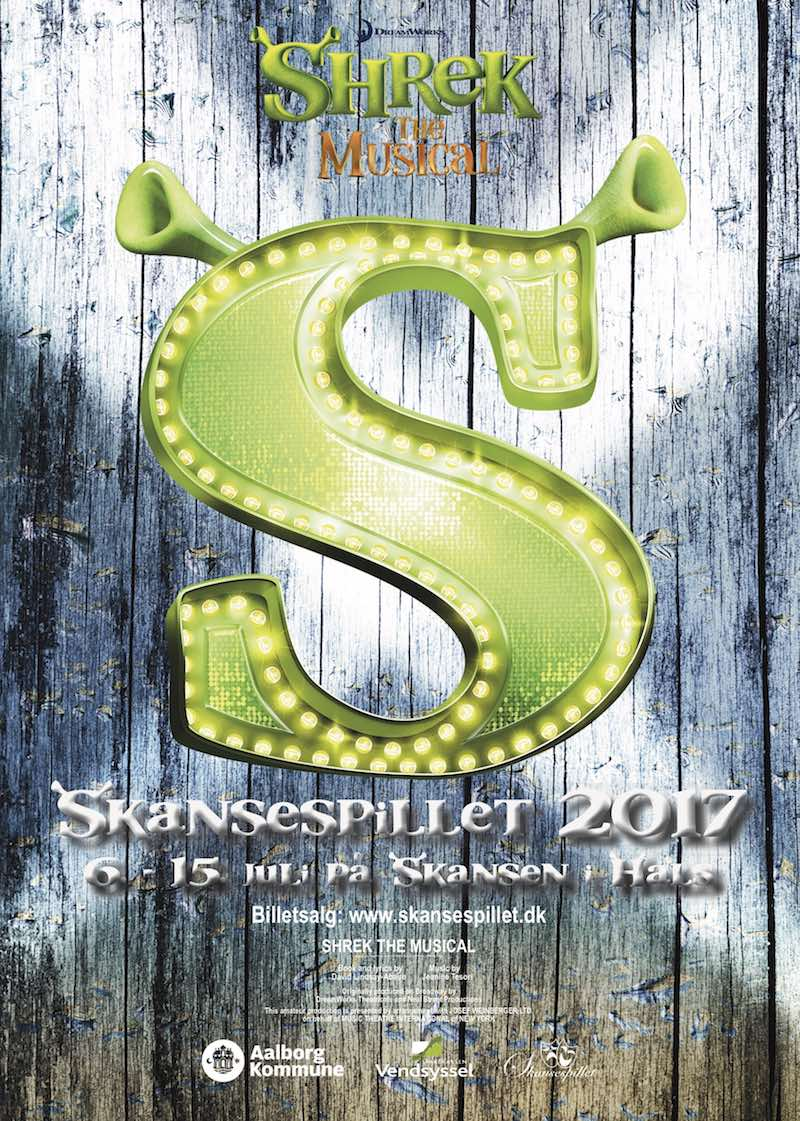 Skansespillet 2017 SHREK - the musical