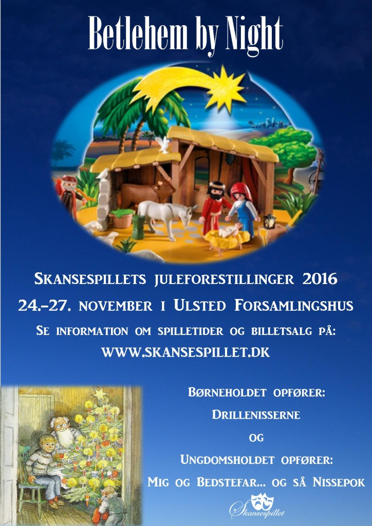2016 Betlehem By Night - Skansespillet