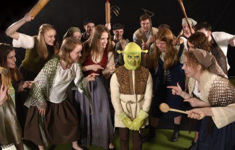 Landsby og lille Shrek - ikke venlige - Skansespillet 2017 SHREK