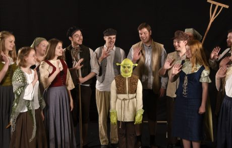 Landsby og lille Shrek - venlige - Skansespillet 2017 SHREK