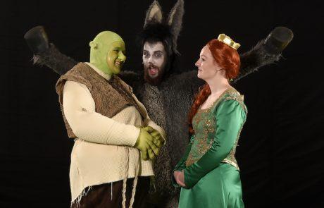 Shrek, Fiona og æsel - Skansespillet 2017 SHREK