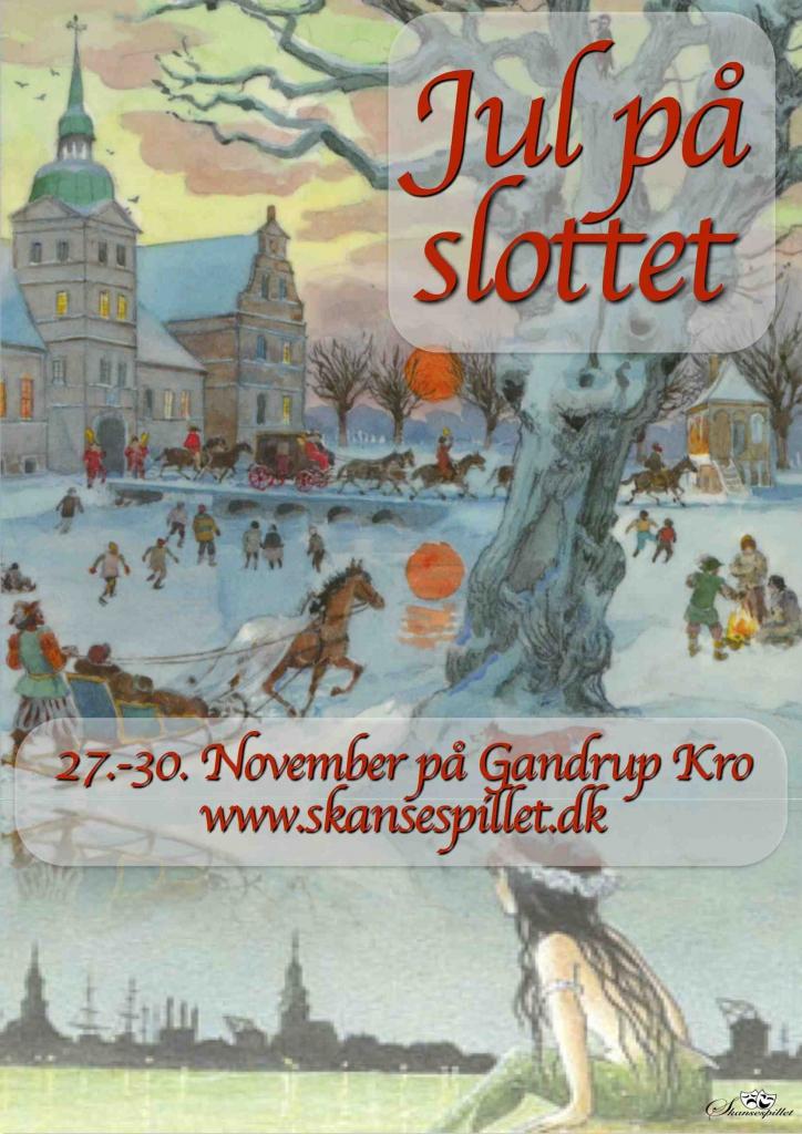 2014 Jul på slottet + Den lille havfrue plakat