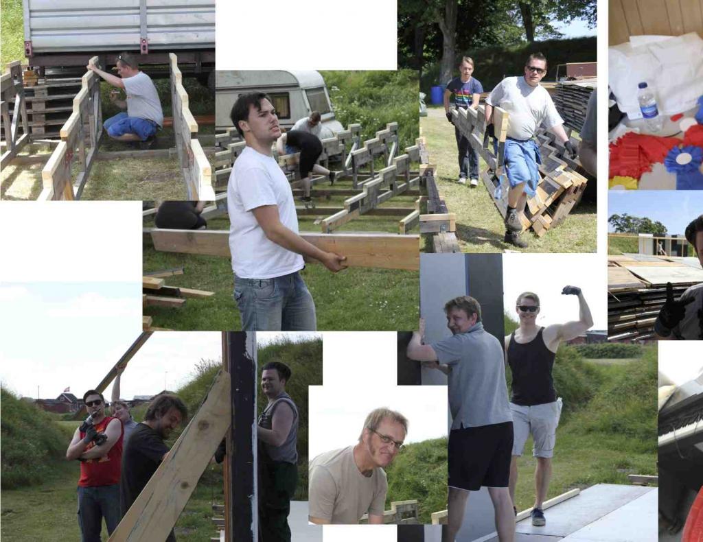 80 dage PR 1 byggeholdet på arbejde