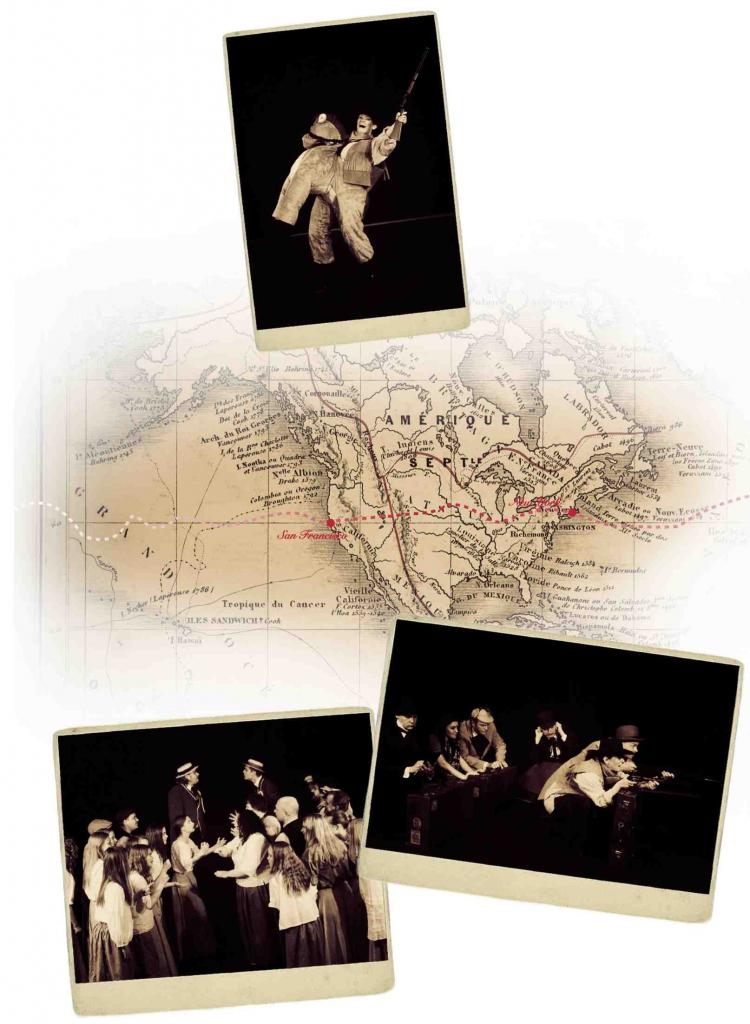 80 dage PR 5 Landkort og Proctor