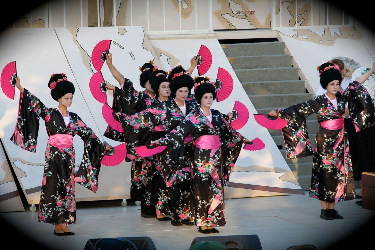 Gaisha dans, Sommerspillet 2014