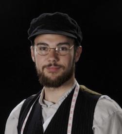 Sommerspil 2015 Hals Musical Spillemand på en tagryg, Jonas Ø Pedersen