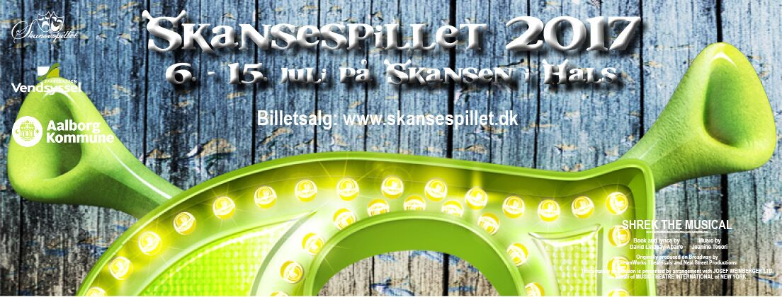 Skansespillet 2017 - SHREK the Musical