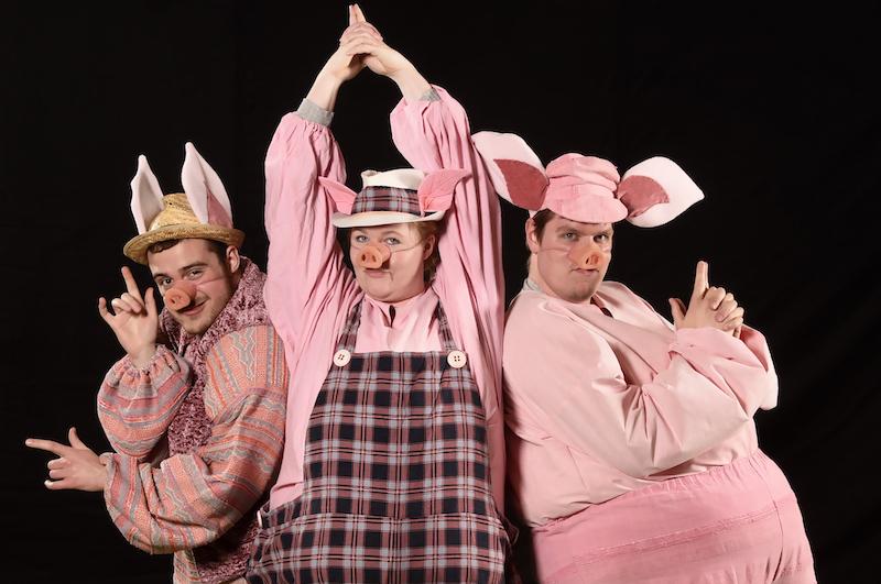 De tre små grise - Skansespillet 2017 SHREK