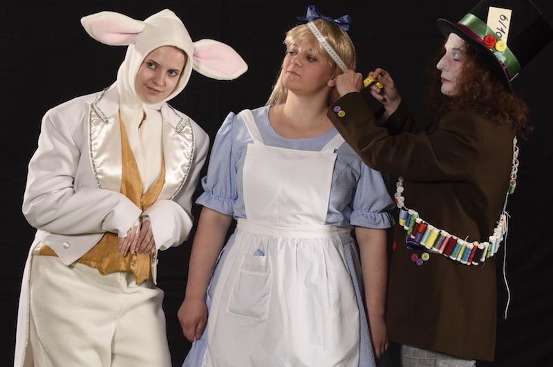 Kanin, hattemager og Alice - Skansespillet 2017 SHREK