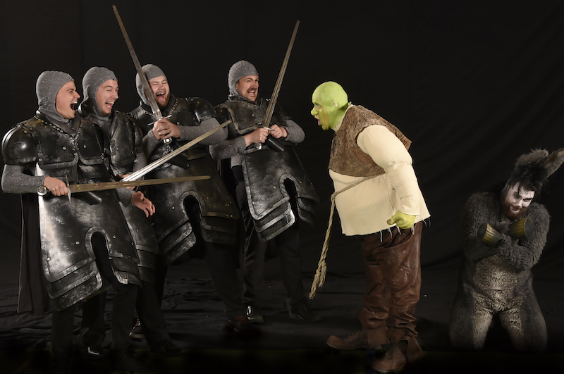 Vagter skræmte - Skansespillet 2017 SHREK