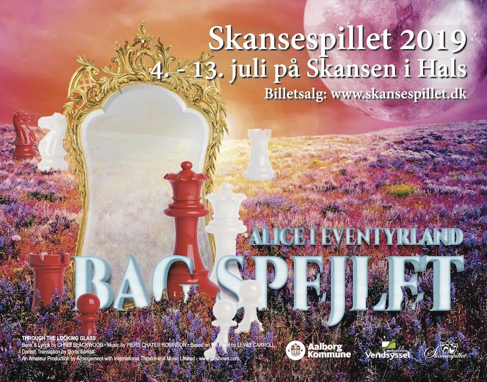 Skansespillet 2019 - Alice i Eventyrland - bag spejlet