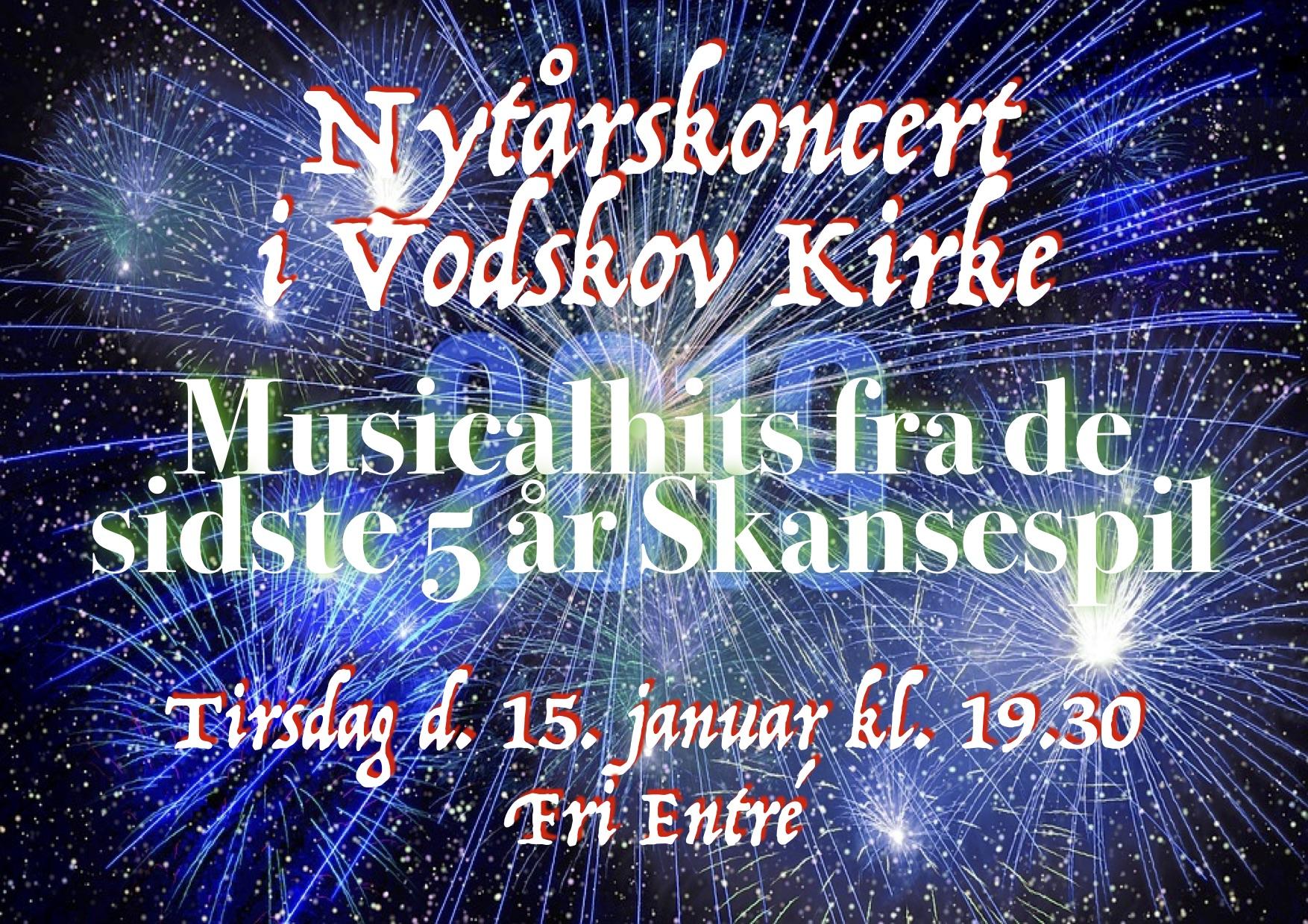 Skansespillet holder nytårskoncert i Vodskov Kirke